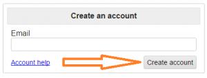 craigslist create account button image