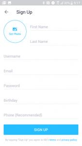 kik registration form image