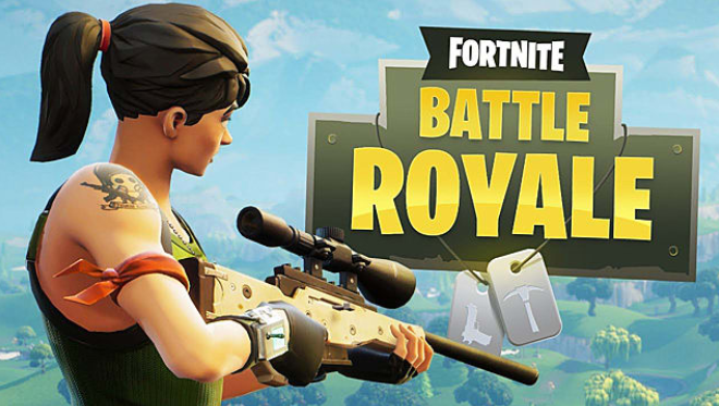 image of fortnite battle royale logo